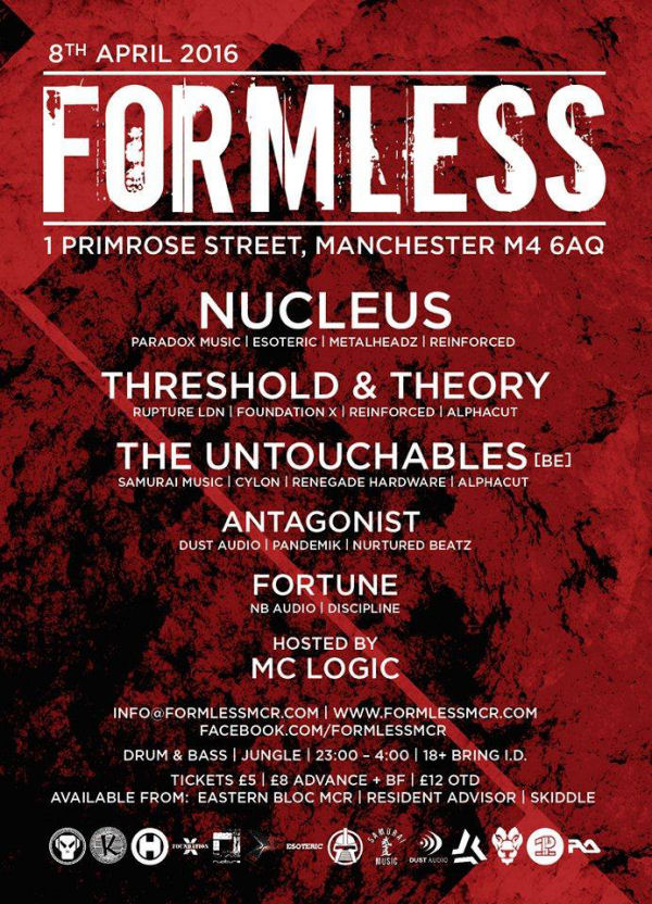 Formless, Manchester UK